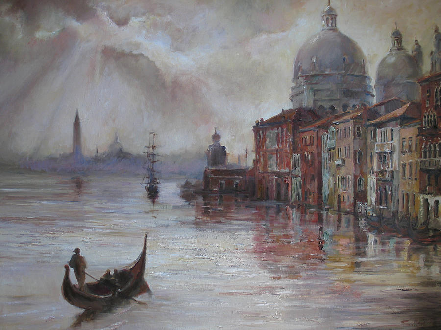 Evening in Venice. by Tigran Ghulyan