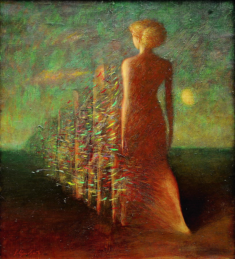 Evening Painting by Karen Aghamyan