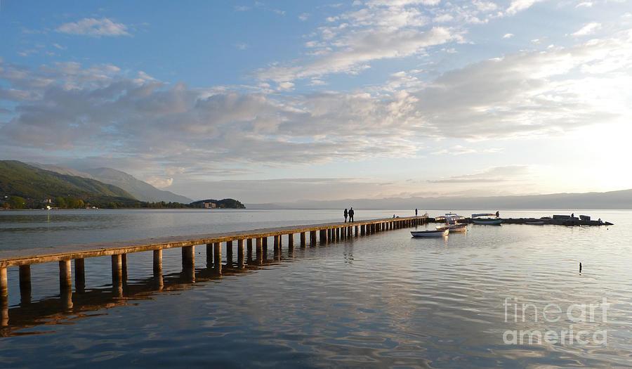 Evening - Lake Ohrid - Macedonia by Phil Banks