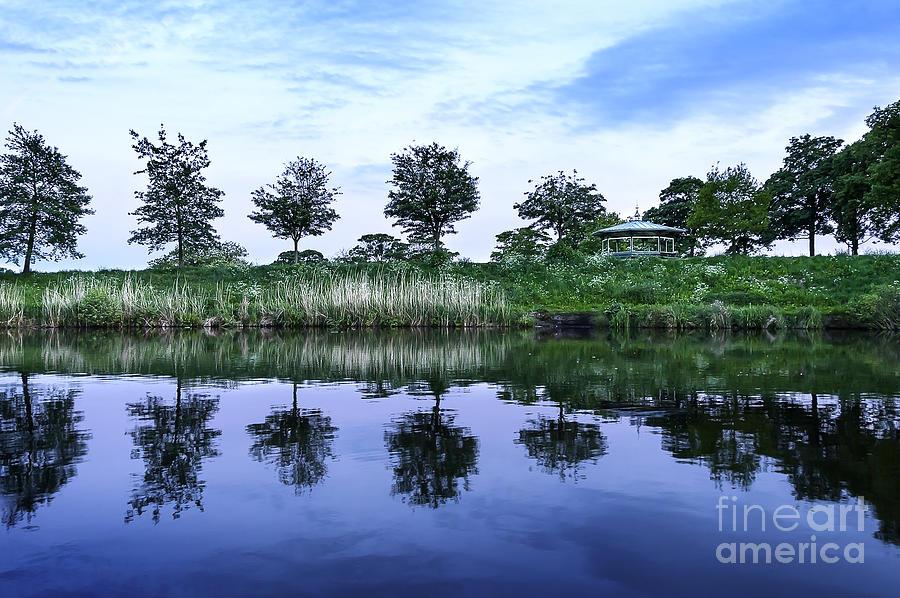 Breathtaking Photograph - Evening Lake by Svetlana Sewell
