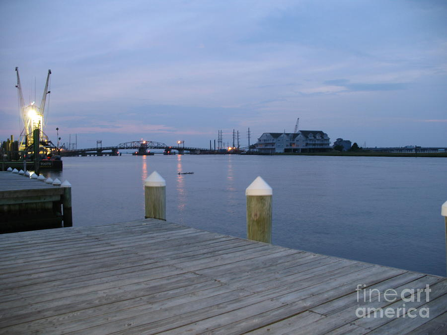 Evening Light Photograph - Evening Light At Chincoteague Sound  by Christiane Schulze Art And Photography