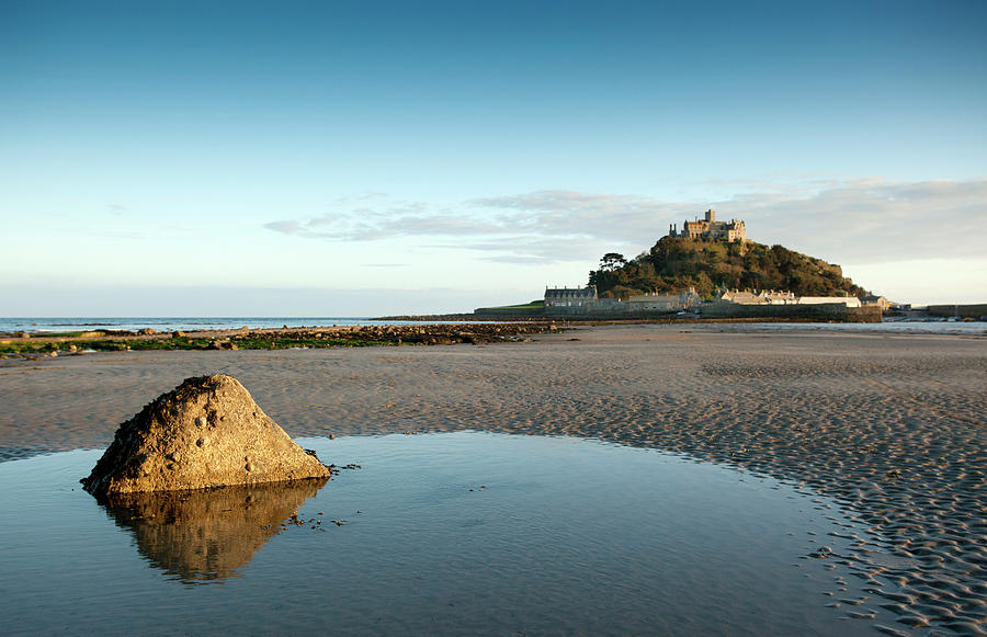 Evening Light, St Michaels Mount Photograph by Photoshopped