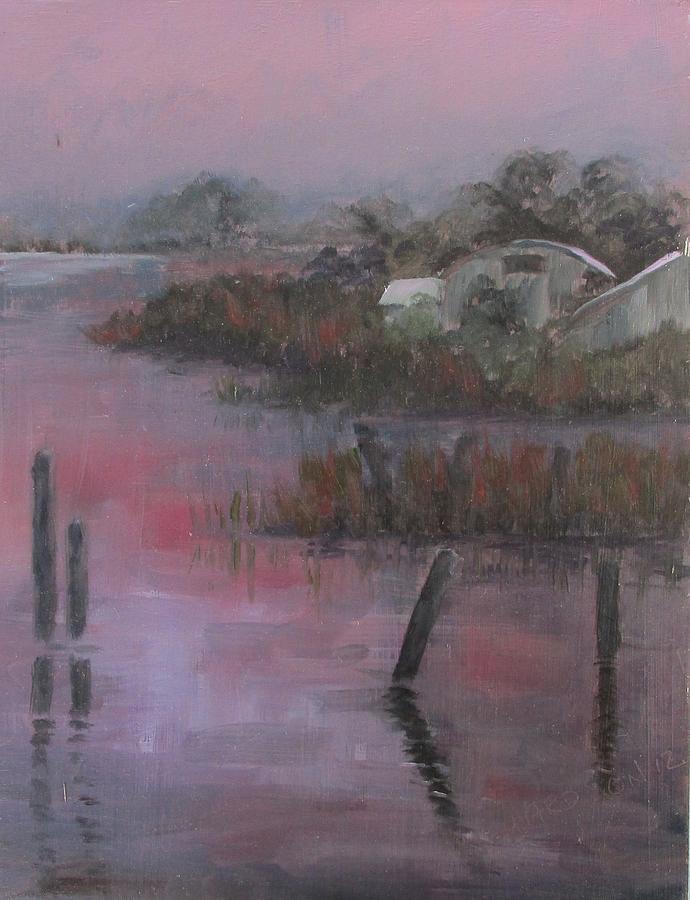 Sunset Painting - Evening Light by Susan Richardson