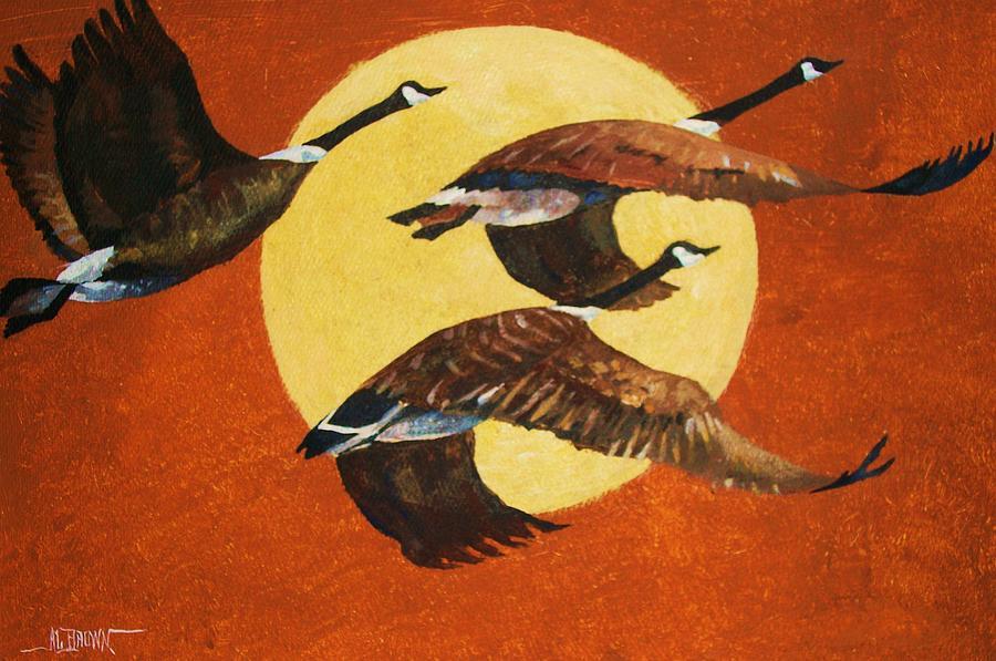 Soaring Migration by Al Brown