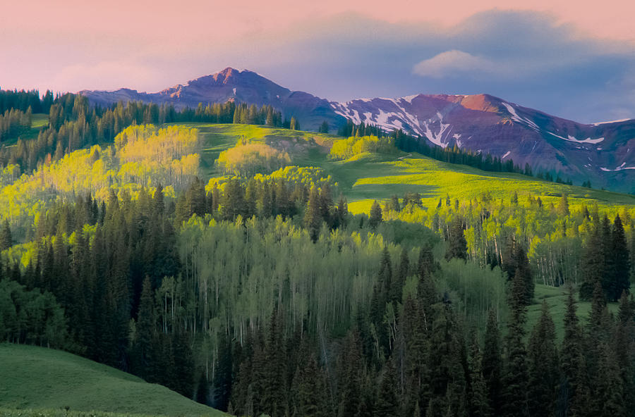 Colorado Photograph - Evening near Crested Butte by Mike  Bennett