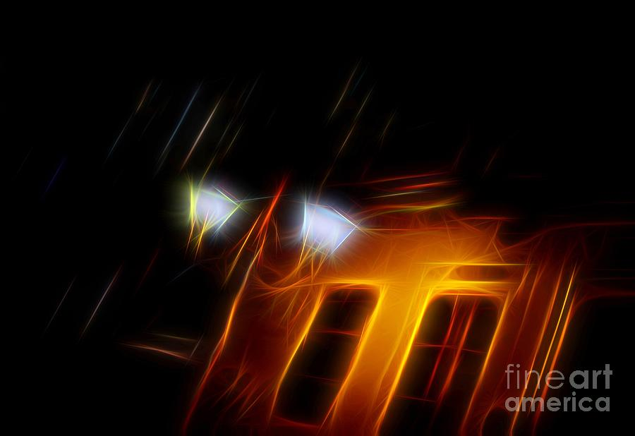 Abstract Photograph - Evening Scene 6 by Vassilis Tagoudis