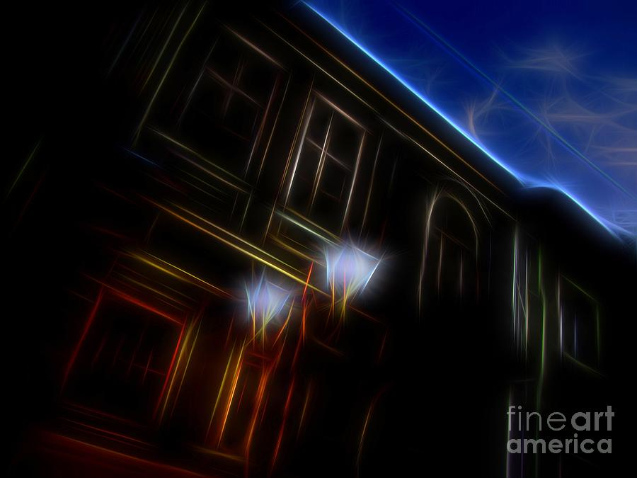 Abstract Photograph - Evening Scene 8 by Vassilis Tagoudis