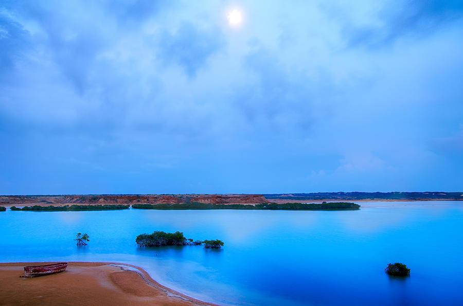 Sky Photograph - Evening Seascape by Jess Kraft