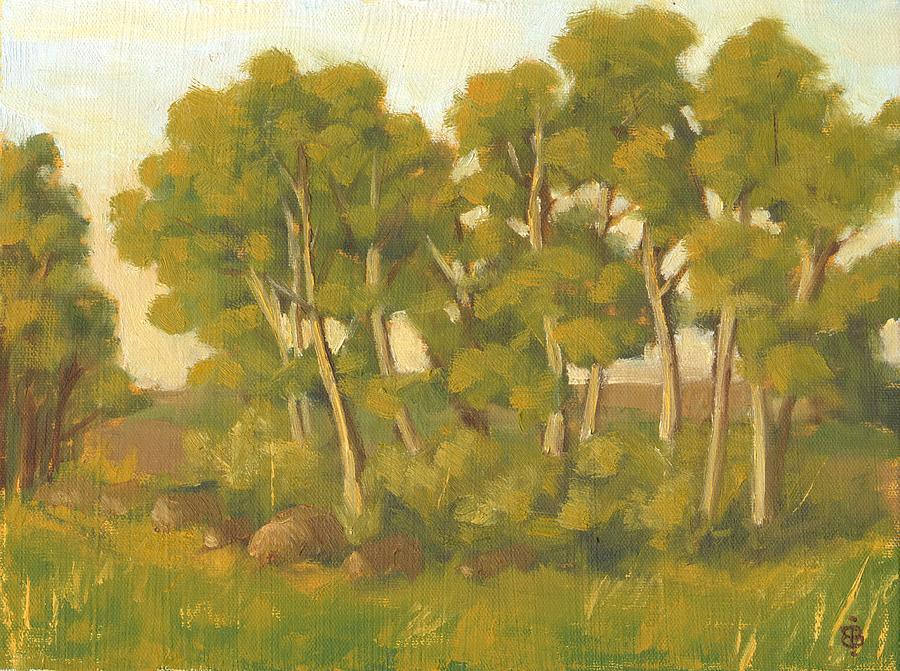 Evening Painting - Evening Sets by Bibi Snelderwaard Brion