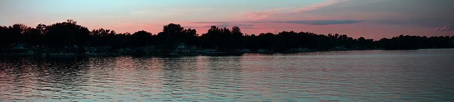 Lakes Photograph - Evening Skies by Thomas Fouch