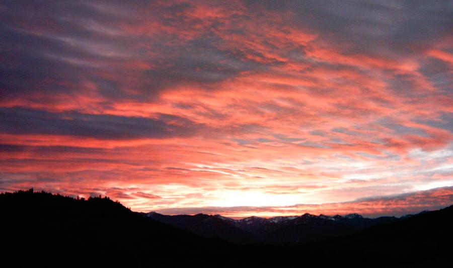 Evening Splendor  Photograph by William McCoy