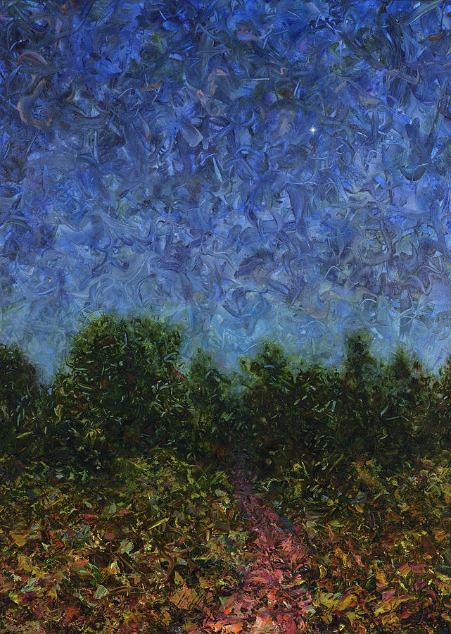 Evening Star Painting - Evening Star by James W Johnson