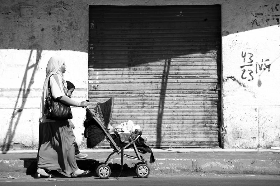 Egypt Photograph - Evening Stroller  by Jez C Self