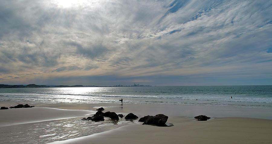 Surf Photograph - Evening Surf by Jocelyn Kahawai