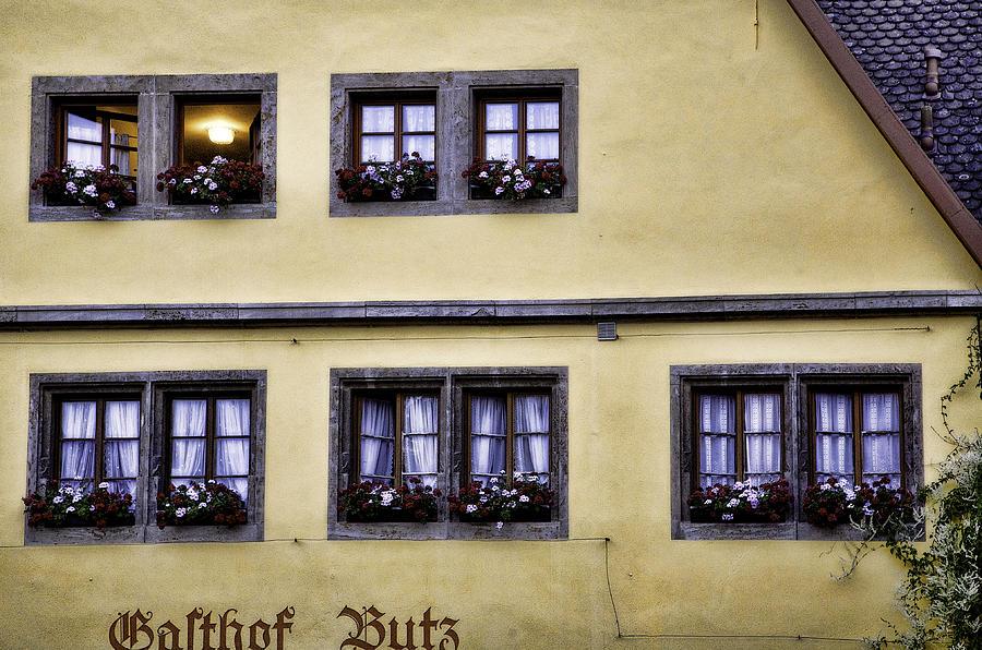Windows Photograph - Evening Windows by Joanna Madloch