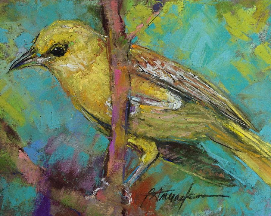 Bird Pastel - Ever Watchful by Beverly Amundson