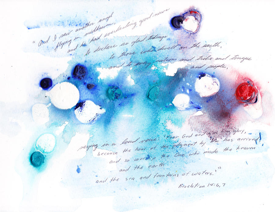 Revelation 14:6 Painting - Everlasting Good News by B L Qualls