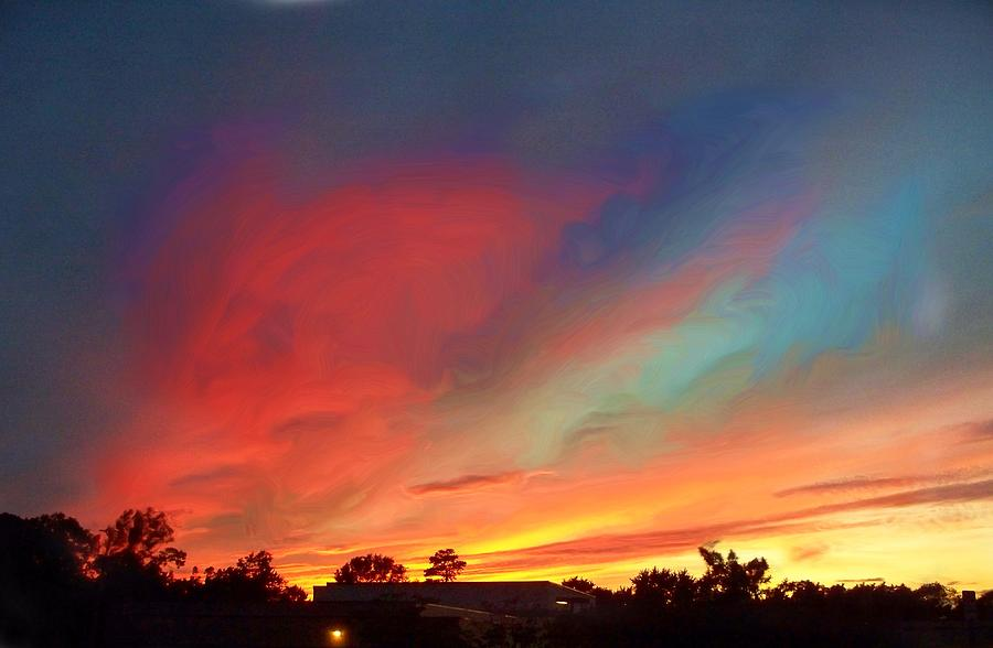 Landscape Canvas  Prints Photograph - Every Sunset Is A Gift by Rick Todaro