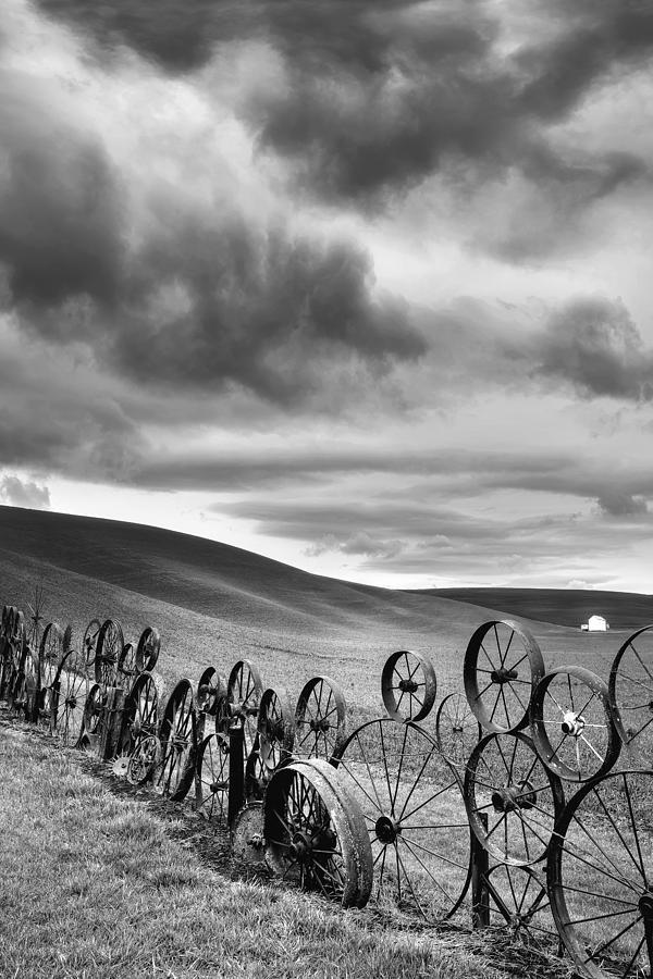 Dahmen Photograph - Every Wheel Has A Story by Ryan Manuel