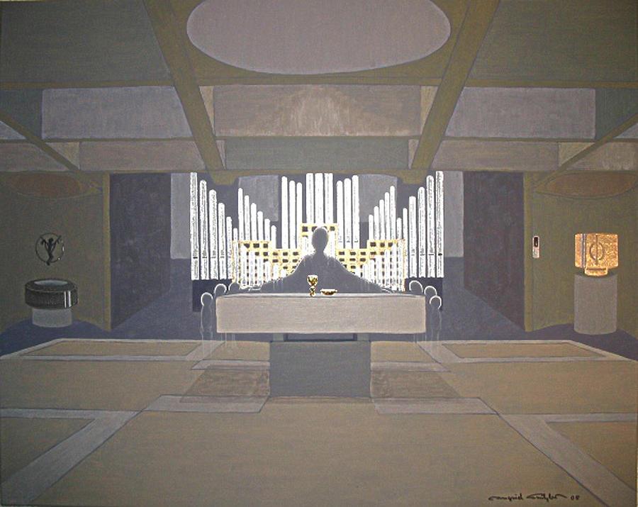 Spirit Painting - Everybody Leaves His Traces Behind... by Ingrid Stiehler