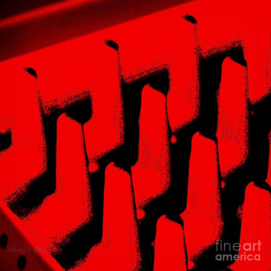 Everyday Abstract In Red Photograph
