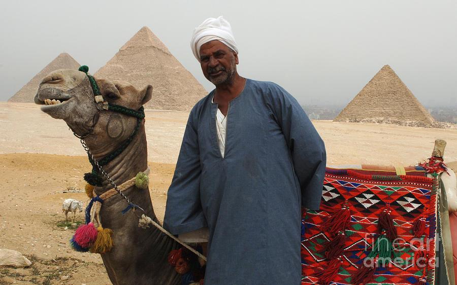 Pyramids Photograph - Everyone Smile by Bob Christopher
