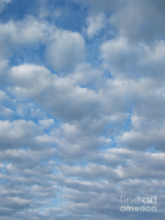 Clouds Photograph - Everywhere - Clouds by Margaret McDermott