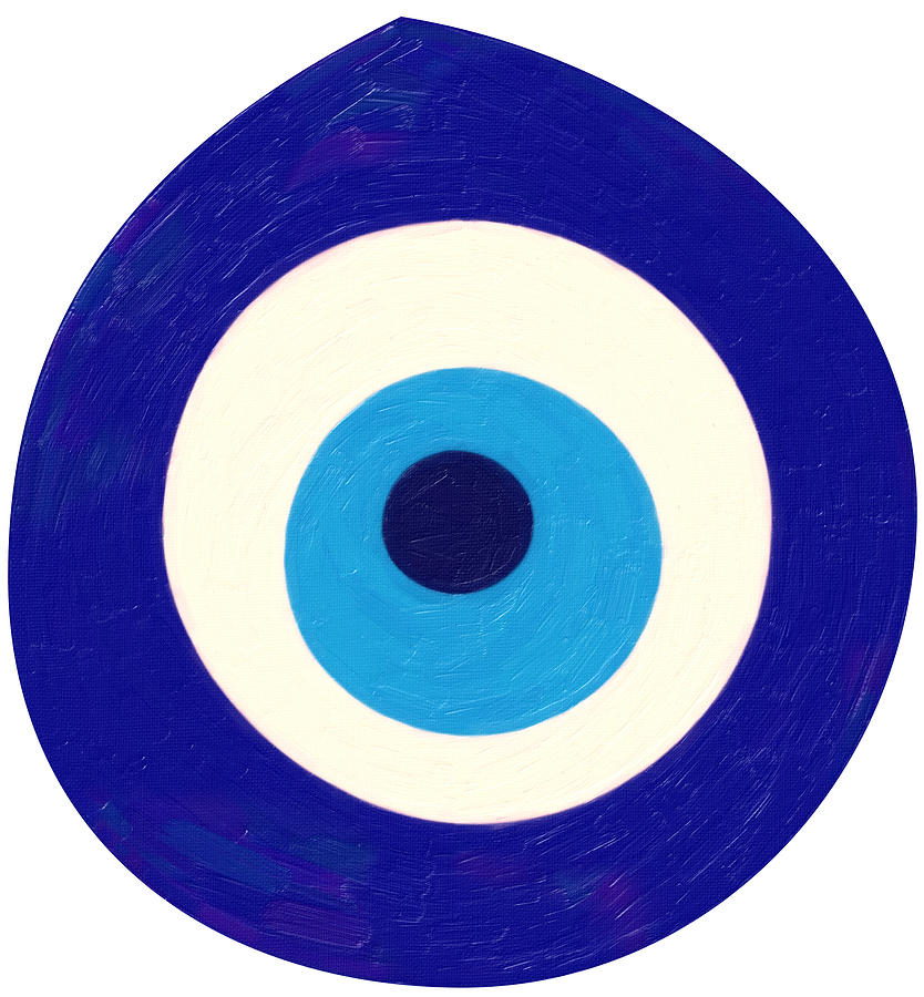 Evil Eye Painting By Celestial Images