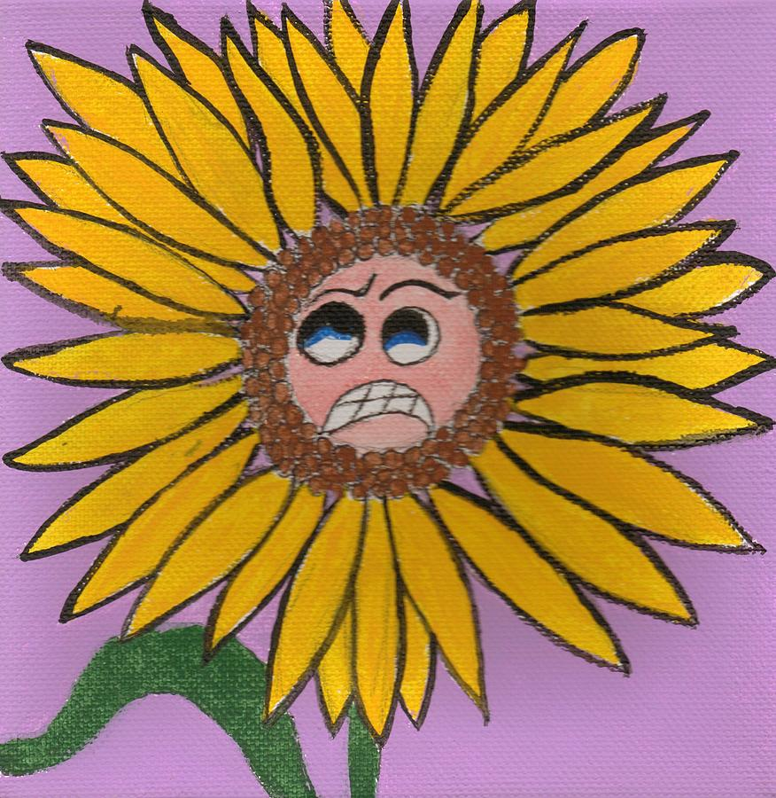 Evil Lil Flowers  by Kim  Rahal