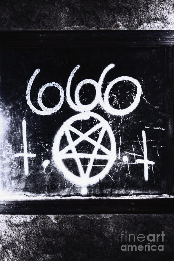 666 Photograph - Evil by Margie Hurwich