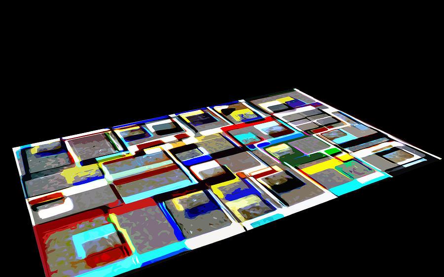 Abstract Digital Art - ex1 by Mark Fearn