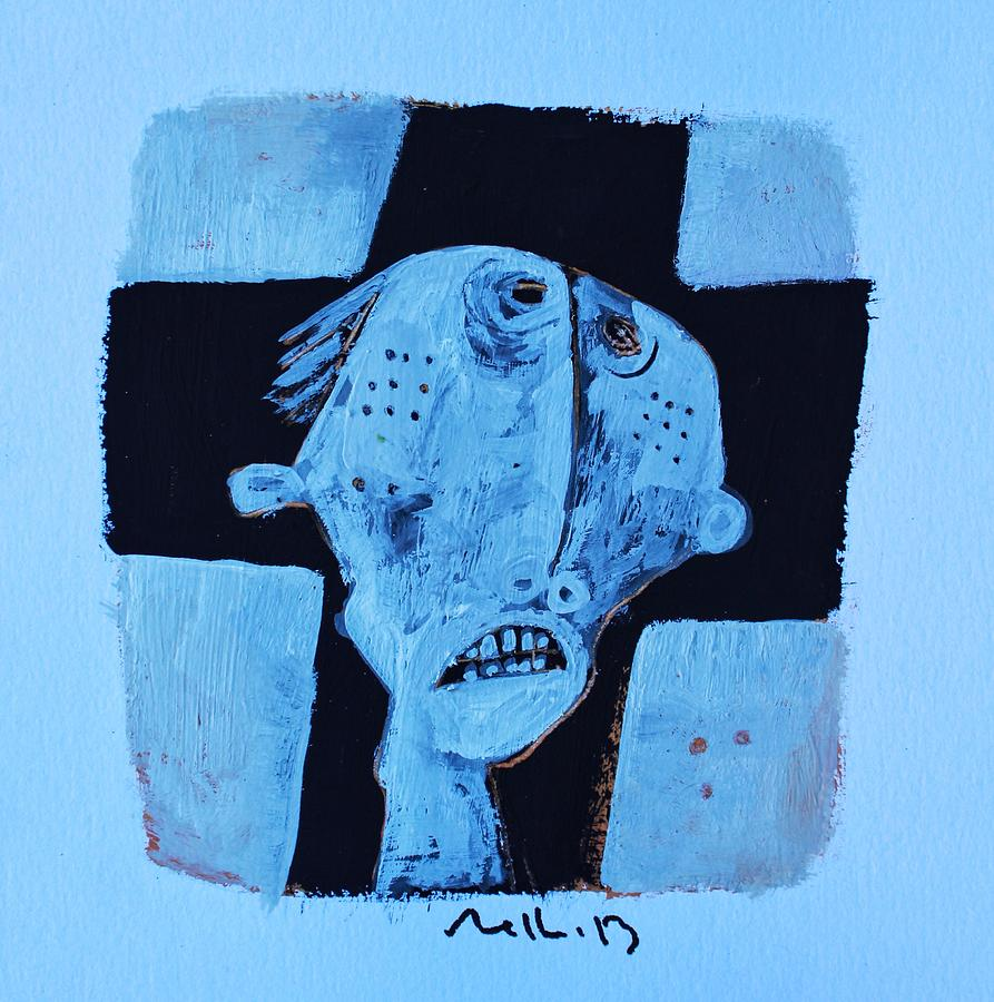 Figure Painting - Exanimus  No. 13  by Mark M  Mellon