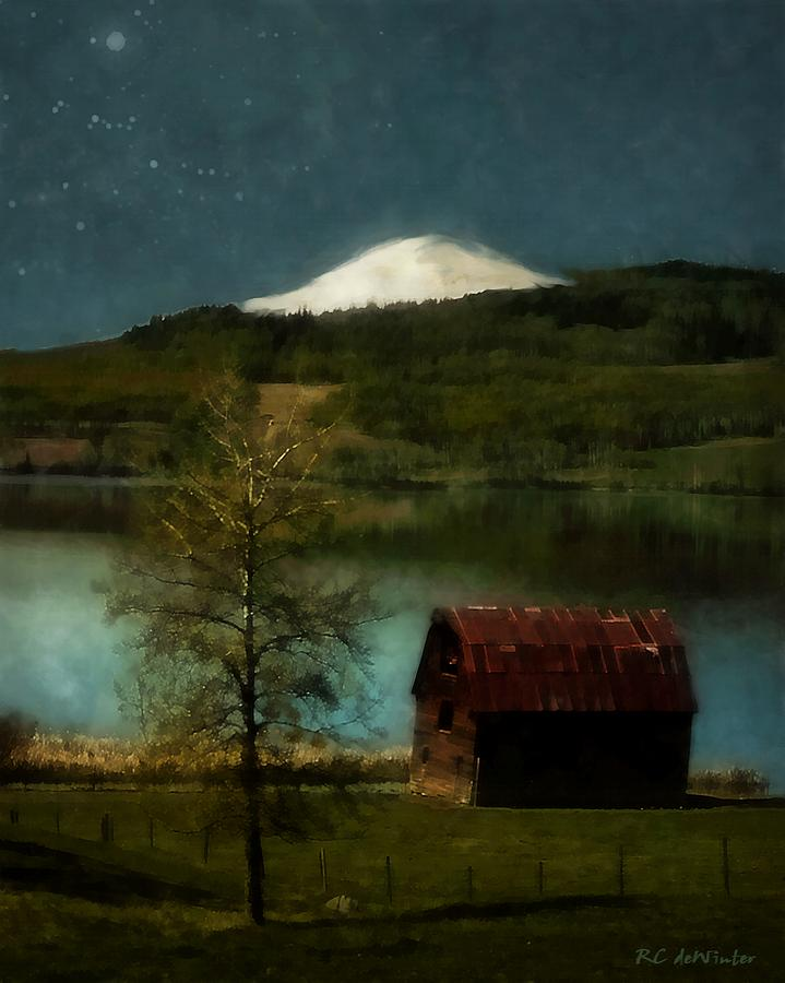Landscape Painting - Excellence And Peace by RC DeWinter