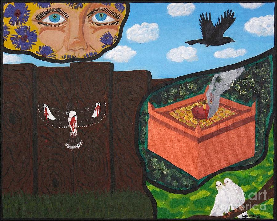Victory Painting - Excruciating Victory by Vicki Maheu