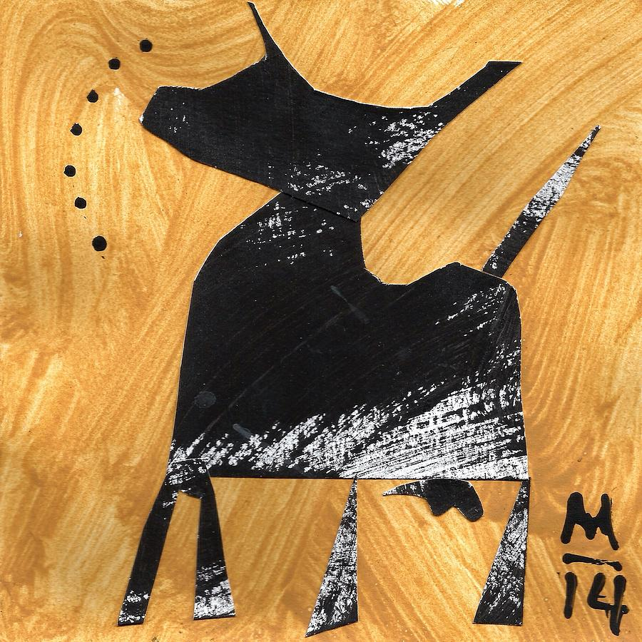 Cut Outs Painting - Execo No. 7  by Mark M  Mellon
