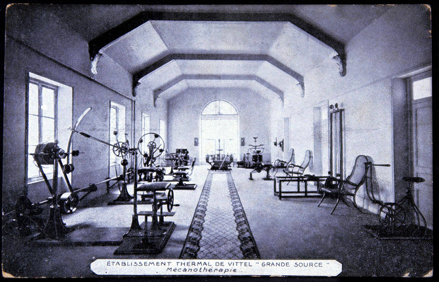 Equipment Photograph - Exercise Room At A Spa by Cci Archives/science Photo Library