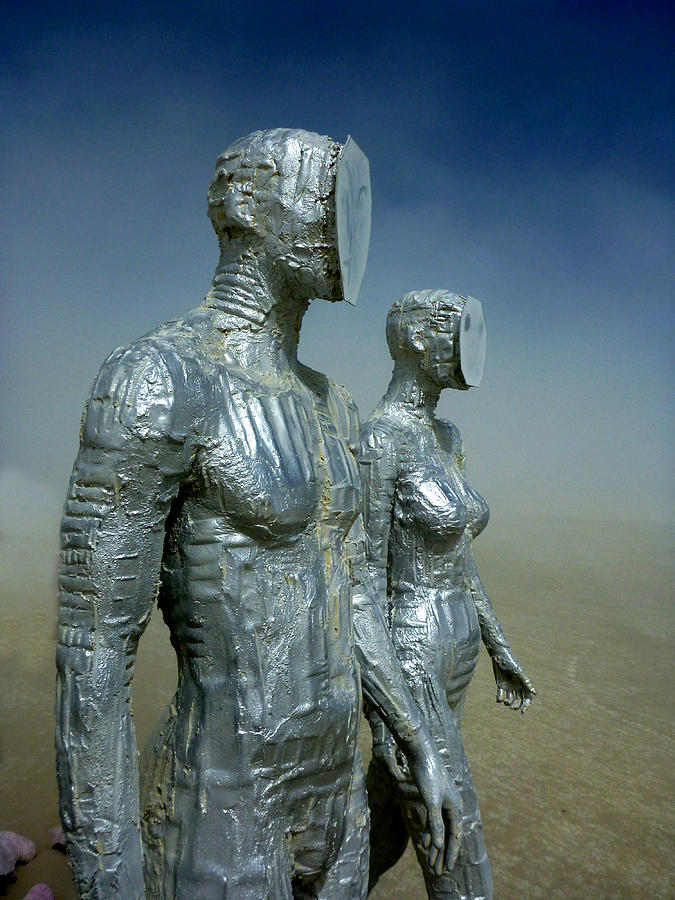 Chad Rice Sculpture - Exfoliate II by Chad Rice