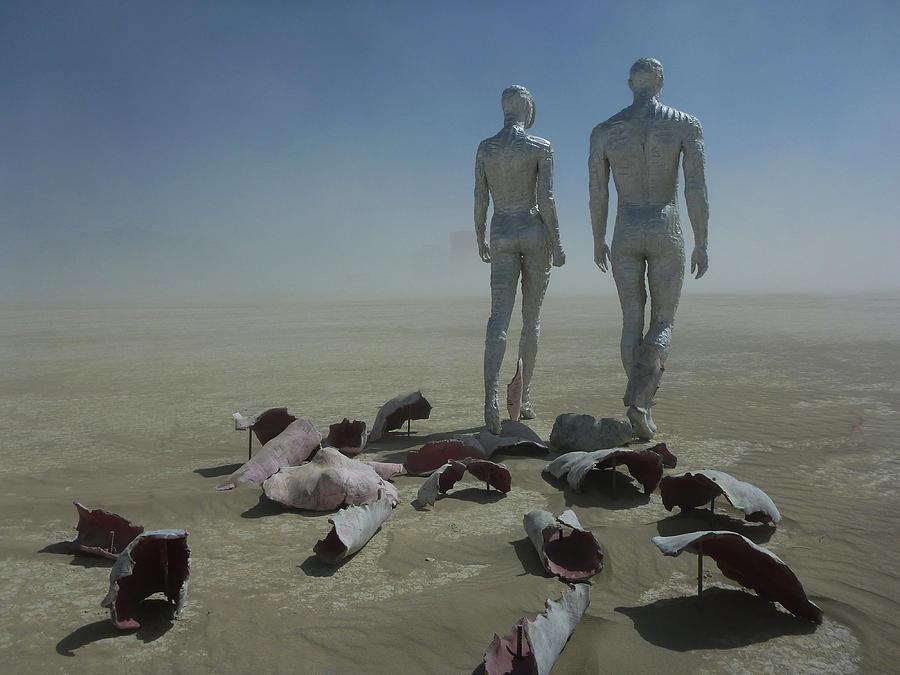 Chad Rice Sculpture - Exfoliate Vi by Chad Rice