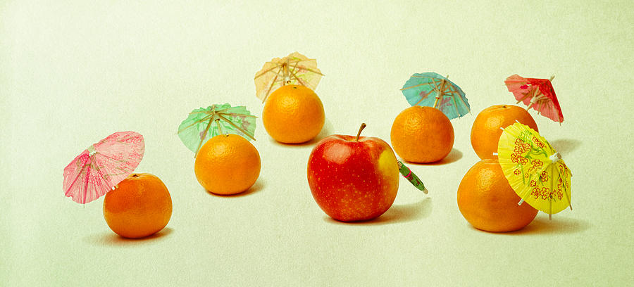 Apple Photograph - Exotic Fruit by Alexander Senin