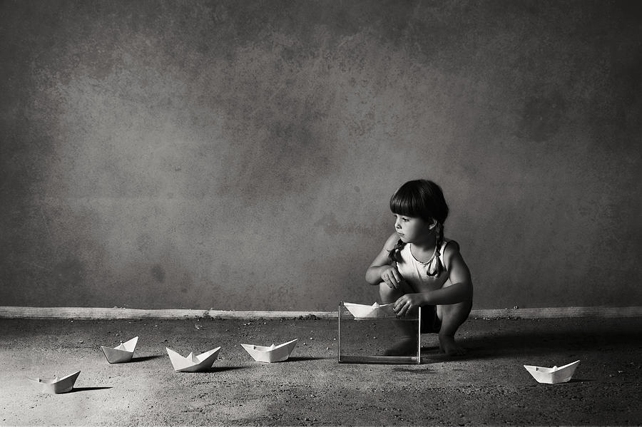 Paper Photograph - Expanding The Horizons Of Imagination.. by