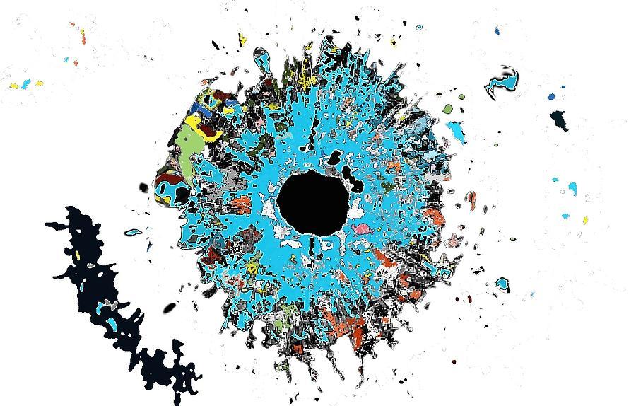 Exploding Eye Digital Art