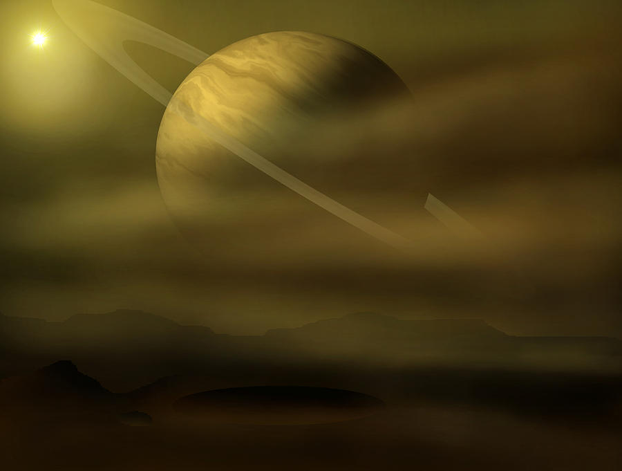 Stars Digital Art - Exploration by Ricky Haug