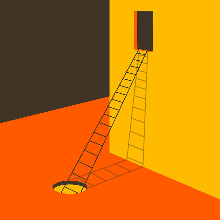 Modern Abstract Digital Art - Explore by Jazzberry Blue