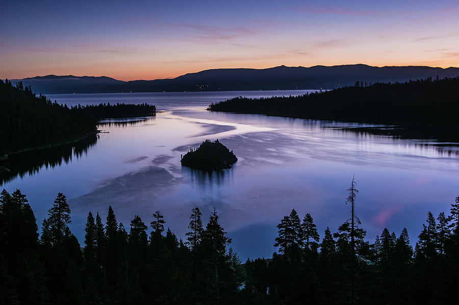 Exploring Lake Tahoe Photograph by George Rose