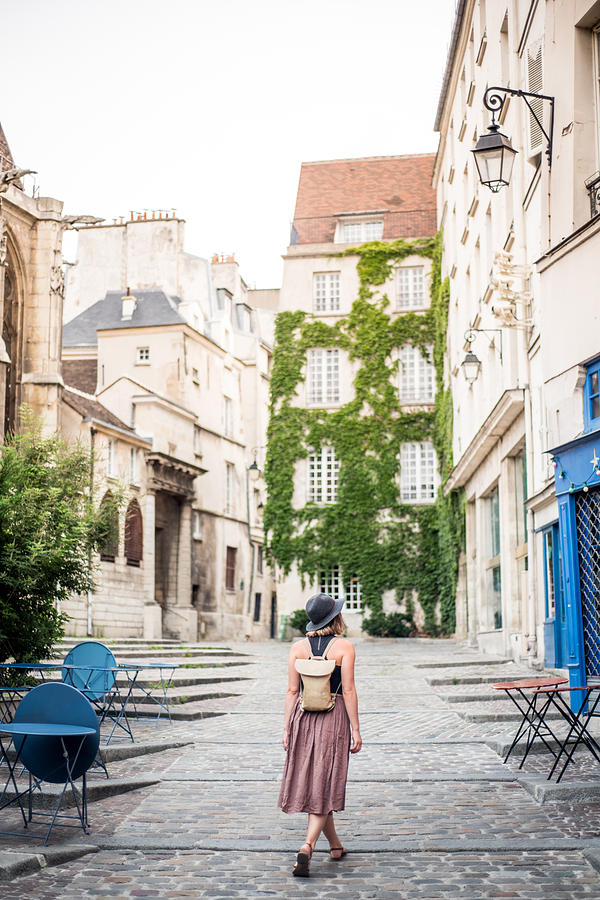 Exploring The Empty Streets Of Paris France Photograph by MundusImages