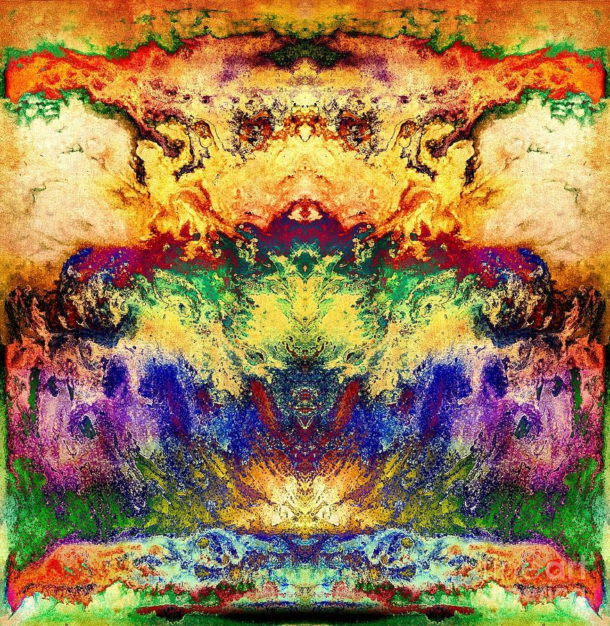 Color Digital Art - Explosion Of Color by Patty Vicknair