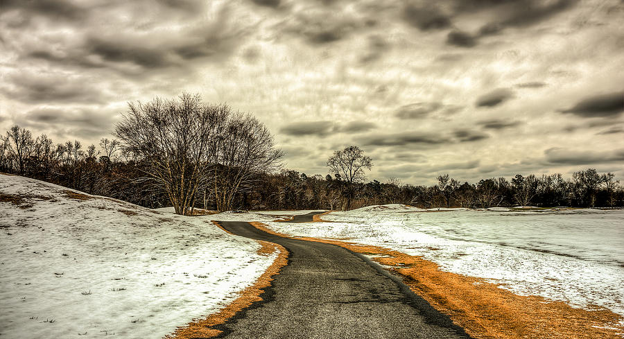 Landscape Photograph - Melting Of Snow by Ahmed Shanab