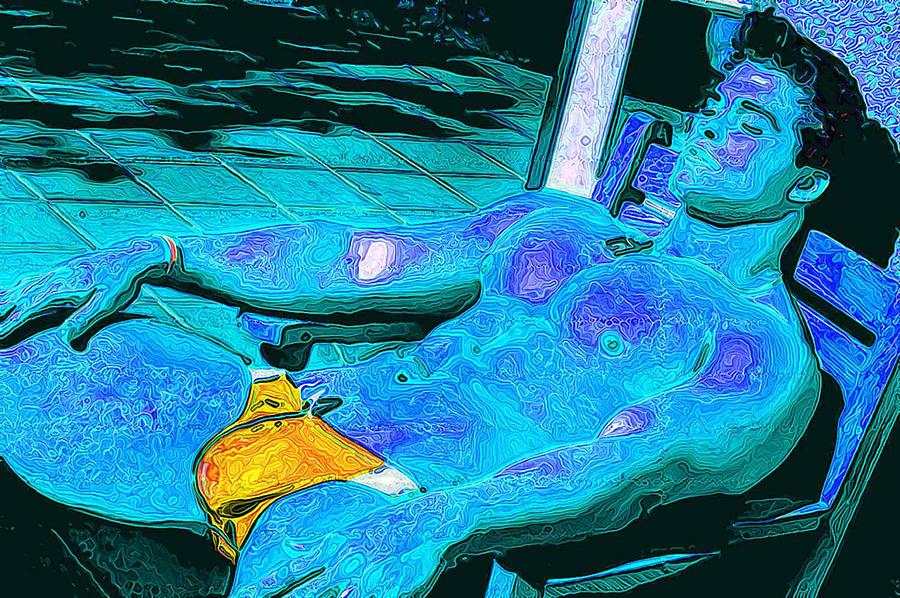 Boy Digital Art - Exposure by Bob Bienpensant
