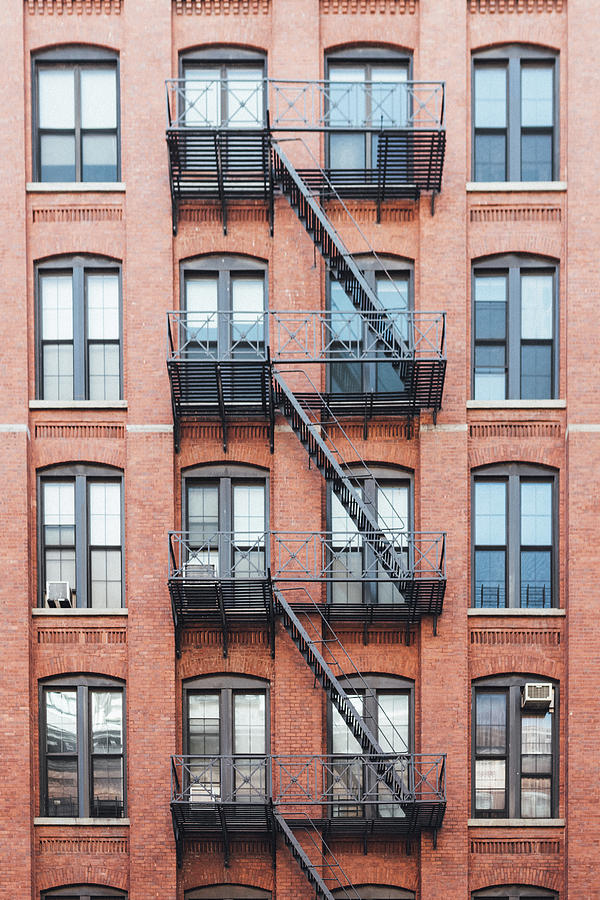 Exterior Of Buildings In New York City Photograph by Deimagine