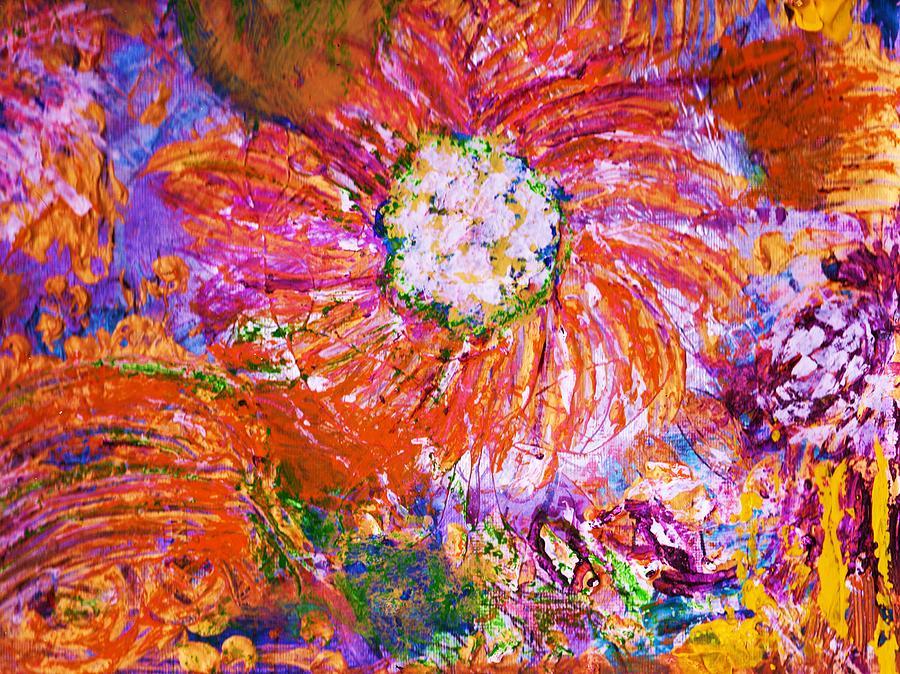 Original Painting - Extravaganza by Anne-Elizabeth Whiteway